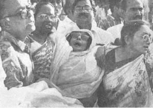 Injured Jahanar Imam