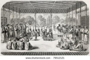 shovan13_1363160371_4-stock-photo-old-illustration-of-indian-dancers-on-stage-created-by-godefroy-durand-published-on-l-illustration-79512121