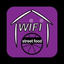 wifi street food logo