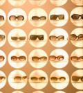 sunglasses displayed in shop